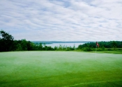 #14 green overlooking the lake